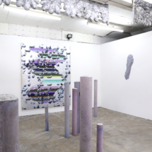 Installation View, Cue Collision